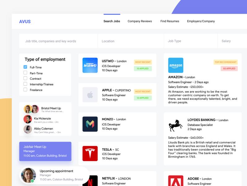 Job Application Process Dashboard