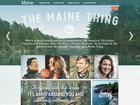 Visit Maine Website