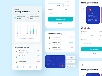 Fulush - Digital Banking App finance app banking app banking blue app user experience user interface mobileapp clean design ux ui