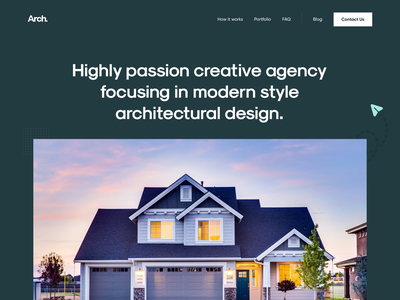 Architecture Agency Landing Page Exploration green landing page design architecture design architecture web design webdesign landing page landingpage user experience user interface clean design ux ui
