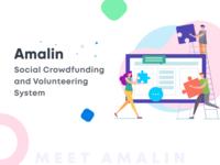 Amalin Landing Page