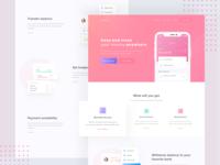 Shuogeh - Wallet App Landing Page