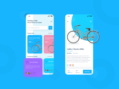 Baykers - Bike Rental & Community App