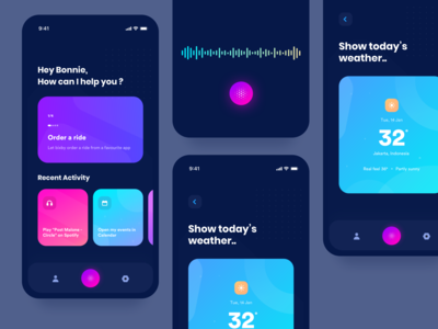 Bixby Voice Assistant android sketch mobile voice assistant interface user experience user interface mobileapp app ux ui design