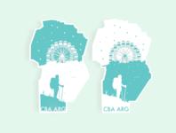 Hometown Stickers. Córdoba, Argentina.