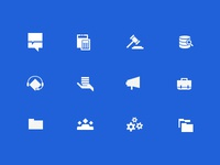 Icons For Working Roles