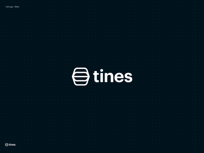 Tines Brand productivity teams automation identity design brand