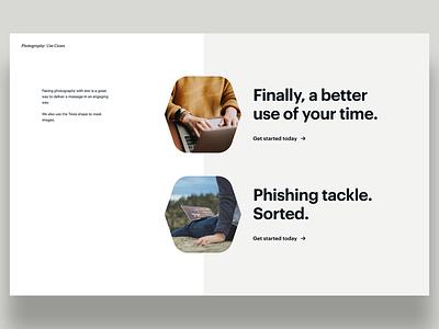Tines Brand productivity teams automation identity design brand