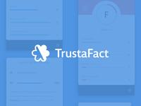 TrustaFact —Brand, UI & UX