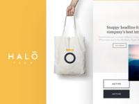 Halo Brand & UI Styleguide