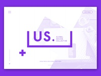 &us — Early Website Concept