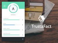 Trustafact // Brand, UX & UI
