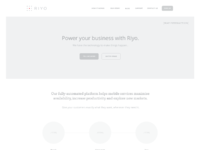 Riyo homepage