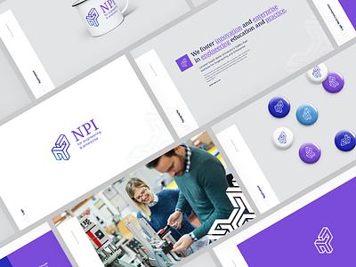 NPI Brand Guideline guideline university identity slogan wordmark mark npi brand logo