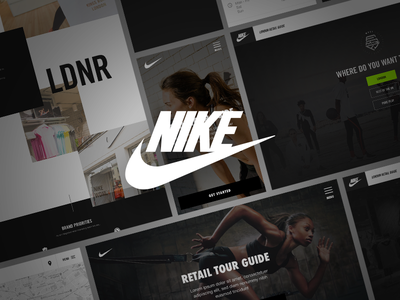 Nike — Retail Guide icons mobile icon ux app identity website design brand ui