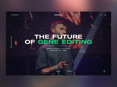 CRISPRcon — Hero Concept
