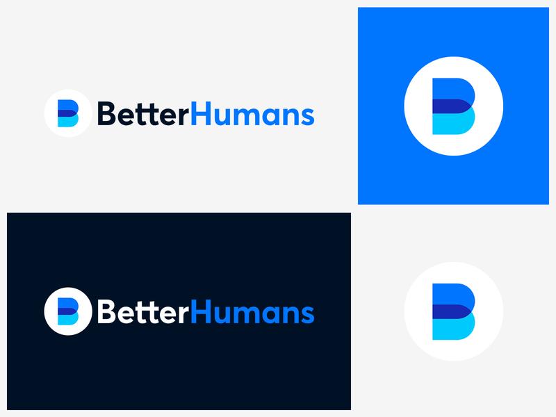 Better Humans Branding flat icons brand guide vector icon colours styleguide app logo identity design brand ui