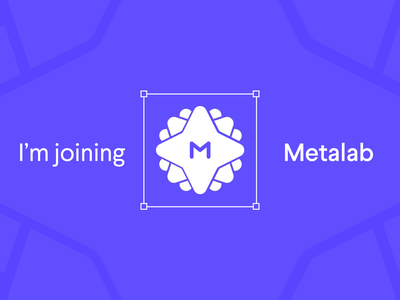 I'm joining Metalab design news