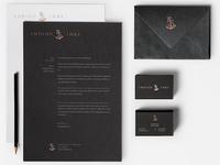 Indigo Inks Branding Stationary