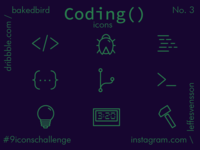 Coding Icons