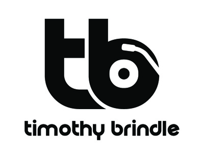 Timothy Brindle Logo clean lettering illustrator typography type identity vector minimal logo icon design branding