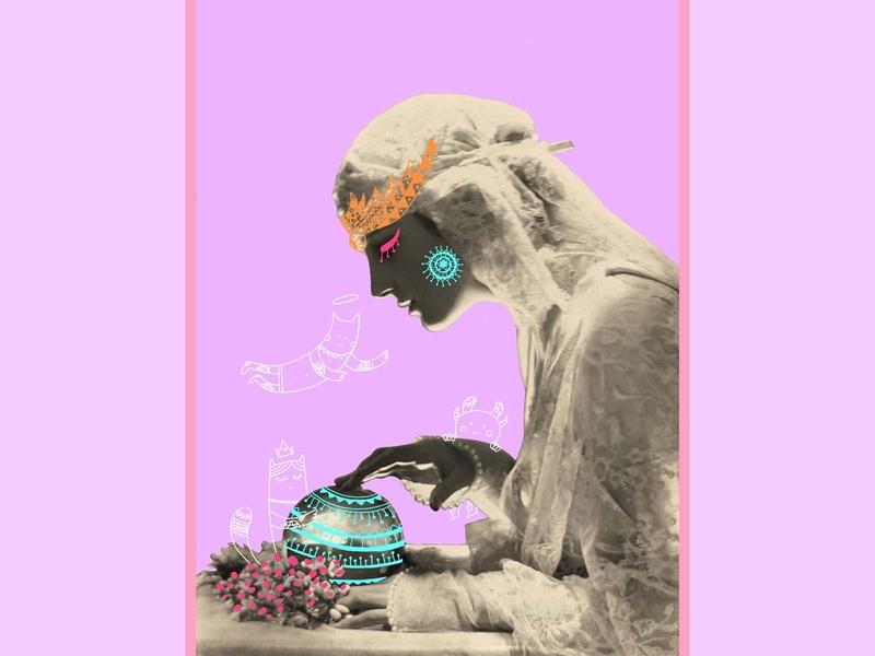 The Sorcerer blackandwhite digital painting digital illustration cat illustration old photo doodleart doodle photo edit voodooist sorcerer digital art flat illustration illustration