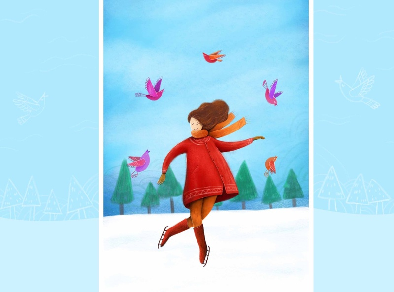 Illustration birds childrenbookillustration paintng colorful illustration digital illustration digital painting digital art illustration