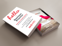 Redweb business cards