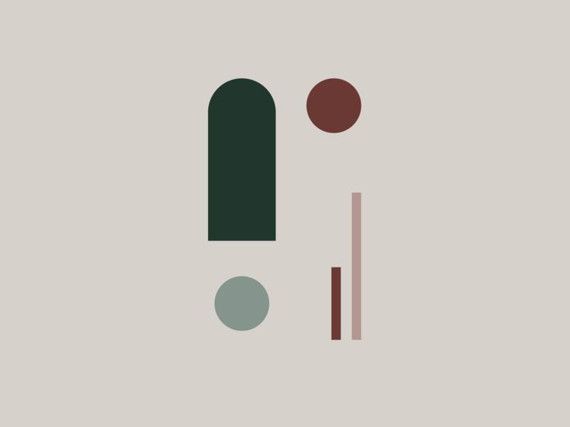 Line & Shape 04 abstract design graphic design identity color design vector illustration