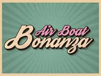 Air Boat Bonanza Card