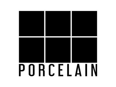 Porcelain Logo tiles simple design logo