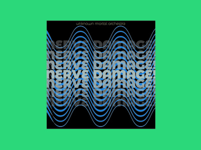 Nerve Damage - Single of the Week record typography indie music orchestra mortal unknown damage nerve