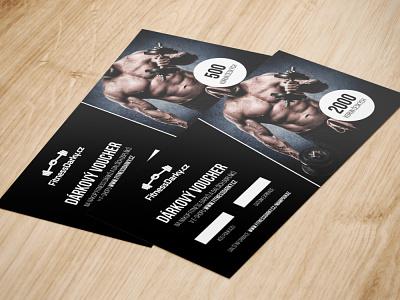 Voucher - FitnessDarky.cz print design voucher