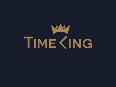 Logo - TimeKing logotype brand logo