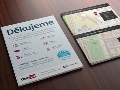 Flyer - QuikSet.cz print design flyer