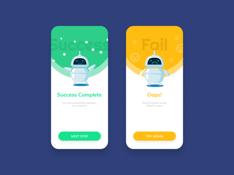 Day 9 - Flash Message design daily design layout design simple design dailyui daily 100 challenge clean ui deisgn