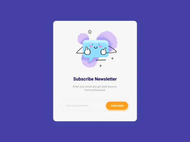 Design Daily 21 - Subscribe subscribe form layouts design daily design layout design simple design dailyui daily 100 challenge clean ui deisgn