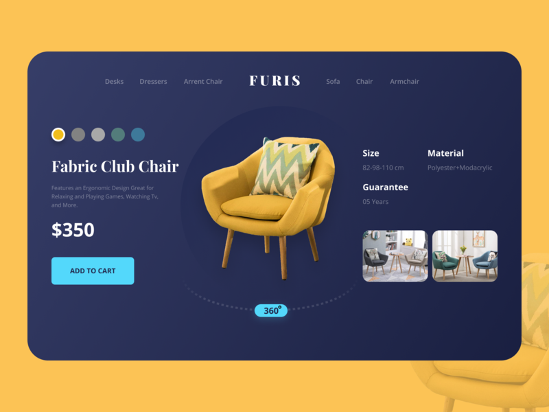 Design Daily 29 - Customize Product layout design design daily furniture simple design dailyui daily 100 challenge clean ui deisgn