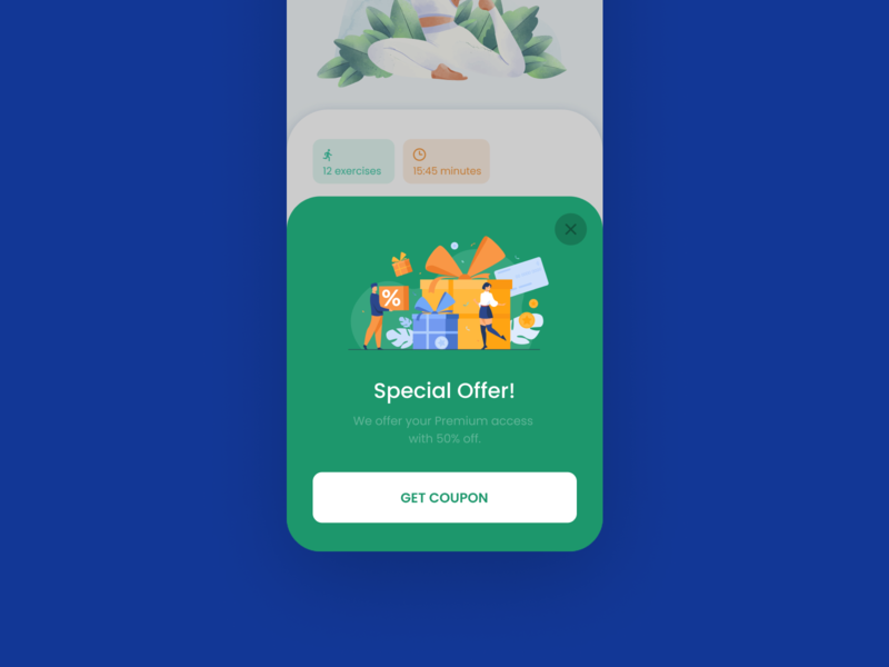 Design Daily 31 - Special Offer design daily dailyui daily 100 challenge clean ui deisgn