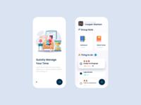 Design Daily 36 - ToDo List app layout design simple design dailyui daily 100 challenge clean ui deisgn todo list