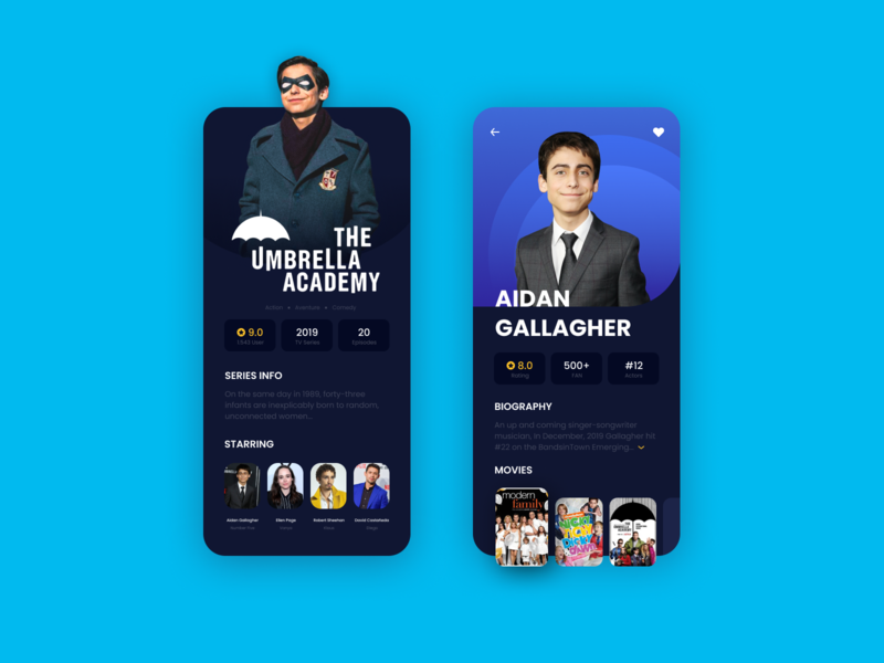 Design Daily 40 - Info Card movie app mobile app layout design simple design dailyui daily 100 challenge clean ui deisgn