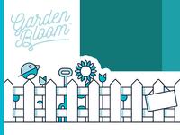 Garden Illustration & Identity