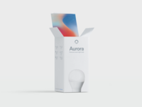 Packaging and branding for Aurora