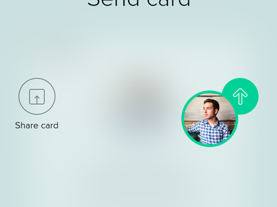 Profile Cards iOS App Animation eleken ui ux iphone6 iphone cards animation gif ios ios8 social