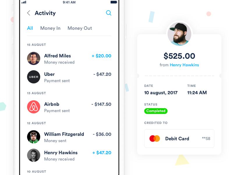 Finance ios app concept 02