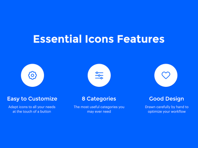 Essential Icons Set fingerprint psd icon kit sketch ai download eleken animation security food traveling finance icon set