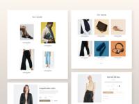 UI Elements E-commerce