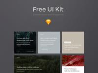 Free E-commerce UI Kit