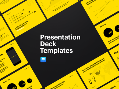 Presentation Templates keynote presentation download market diagram freebie free icons financial startup report eleken