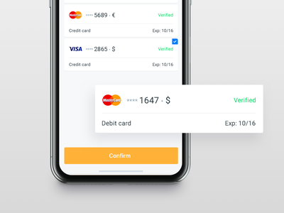 Findo | Card to Card Transfers mastercard transaction payment mobile ios app ux ui